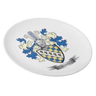 Ward Coat of Arms Party Plates