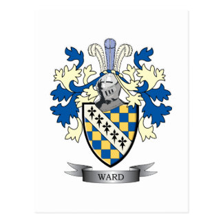 Ward Coat of Arms Postcard