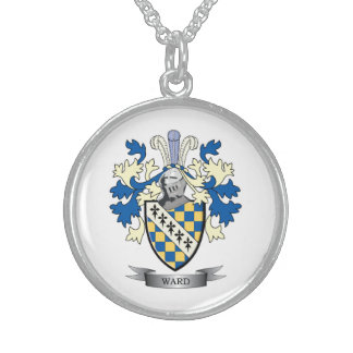 Ward Coat of Arms Sterling Silver Necklace