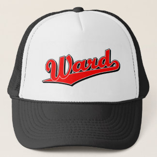 Ward in Red Trucker Hat