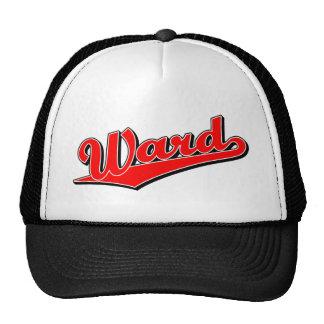Ward in Red Trucker Hat