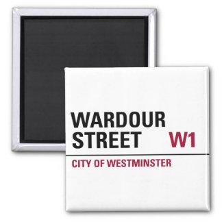 Wardour Street Sign Magnet