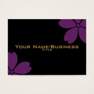 Ware sakura purple business card