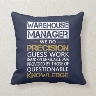 WAREHOUSE MANAGER THROW PILLOW