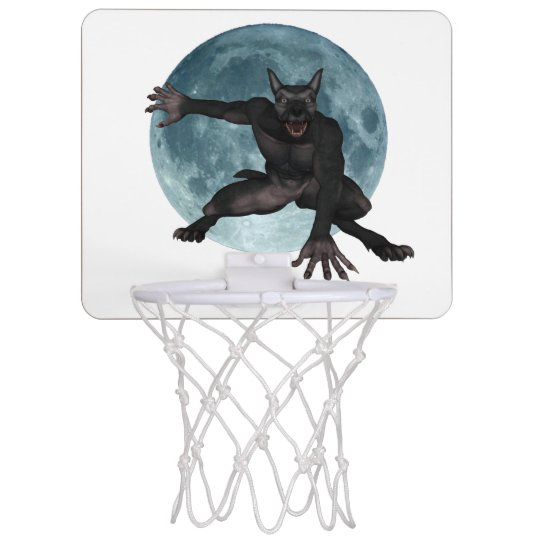 Warewolf basket ball hoop