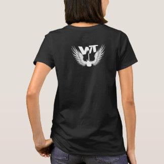 Warhol's Theory Women's Black WT Wing T-Shirt