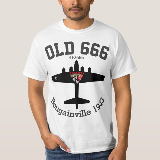 Warkites B-17 Old 666 T-Shirt