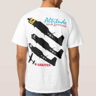"Warkites CJ6A ""Altitude with Attitude"" T-Shirt"