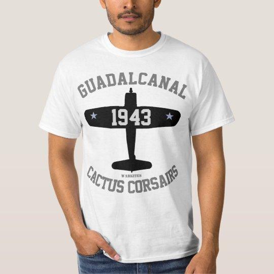 Warkites Guadalcanal Cactus Corsairs T-Shirt