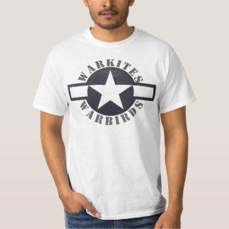 "Warkites ""STARS and bars"" warbirds T-Shirt"