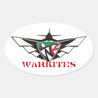 Warkites-Sticker Oval Sticker