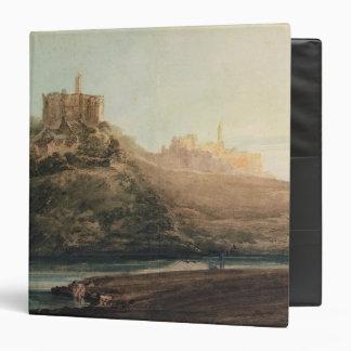 Warkworth Castle, Northumberland, c.1798 (w/c, gou Binders