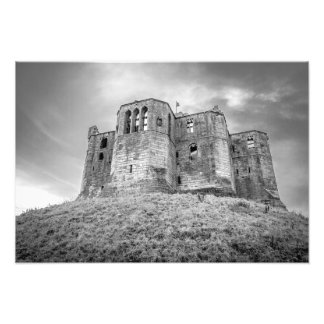 Warkworth Castle photo print