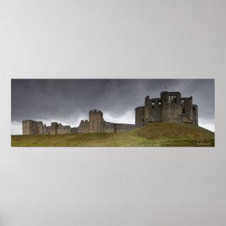 Warkworth Castle Poster