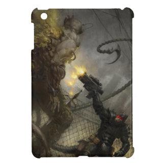 WARLASH VS. ZOMBIE MUTANT by Ben Olson iPad Mini Cases