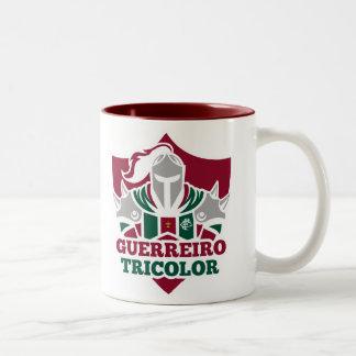 Warlike mug Tricolor