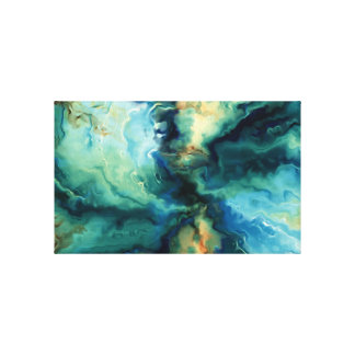 Warm Abstract Landscape Wall Art