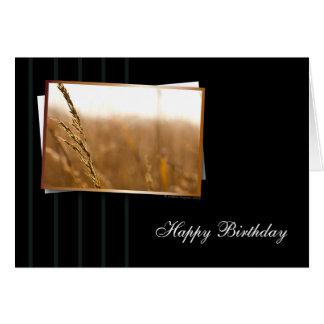 Warm and Classy Birthday Card