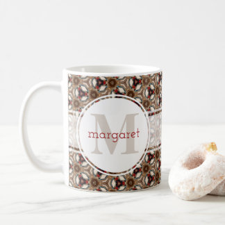 Warm and Cozy Monogram Coffee Mug