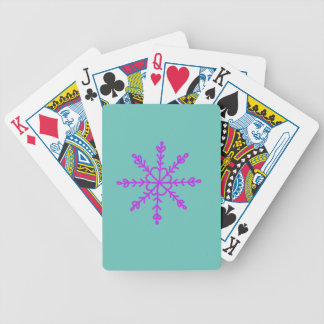 Warm and Lovely Christmassy Bicycle Playing Cards
