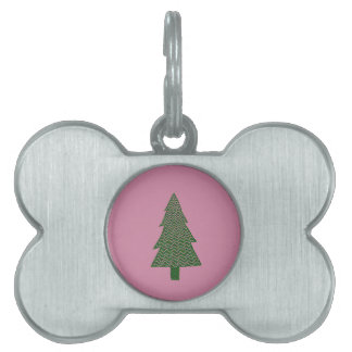 Warm and Lovely Christmassy Pet Name Tag