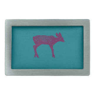 Warm and Lovely Christmassy Rectangular Belt Buckle
