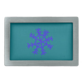 Warm and Lovely Christmassy Rectangular Belt Buckles