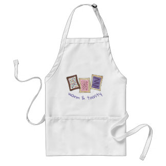 Warm and Toasty Breakfast Toaster Pastry Pastries Standard Apron