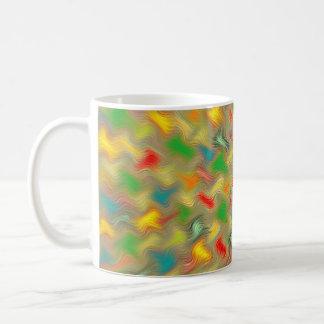 Warm Brush Strokes Coffee Mug
