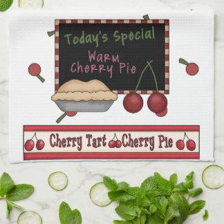 Warm Cherry Pie Kitchen Towel