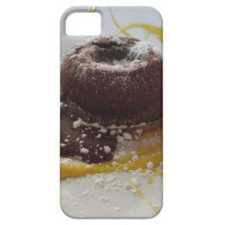 Warm chocolate fondant lava cake dessert iPhone 5 cover