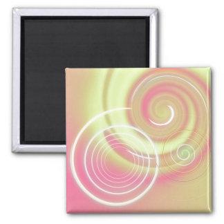 Warm Circles ~ customizable magnet