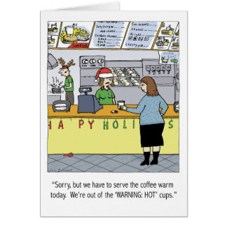 Warm Coffee Holiday Card