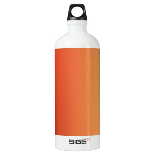 Warm colours, plain design. water bottle