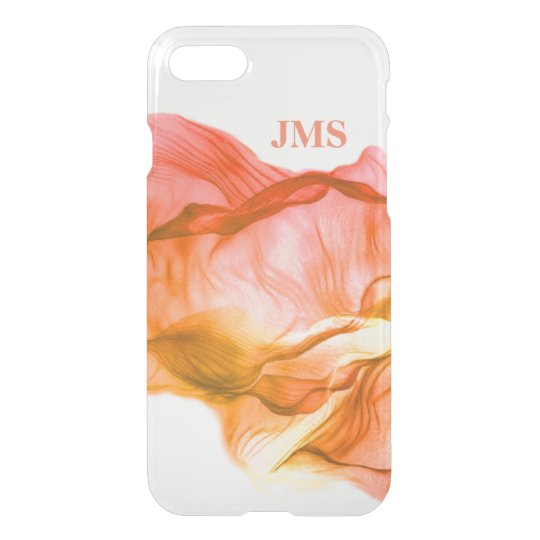 Warm Colours Watercolor Personalized iPhone 7 Case
