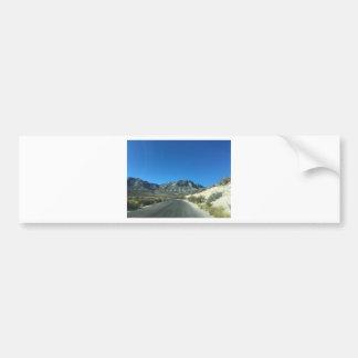 Warm desert days bumper sticker