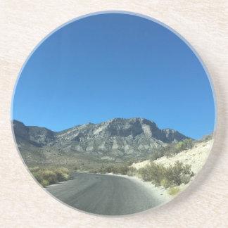 Warm desert days coaster