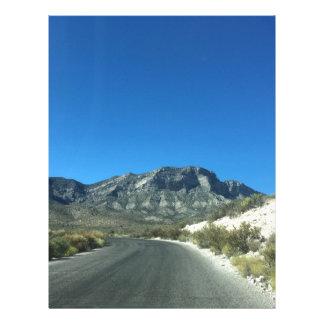 Warm desert days letterhead