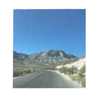 Warm desert days notepad