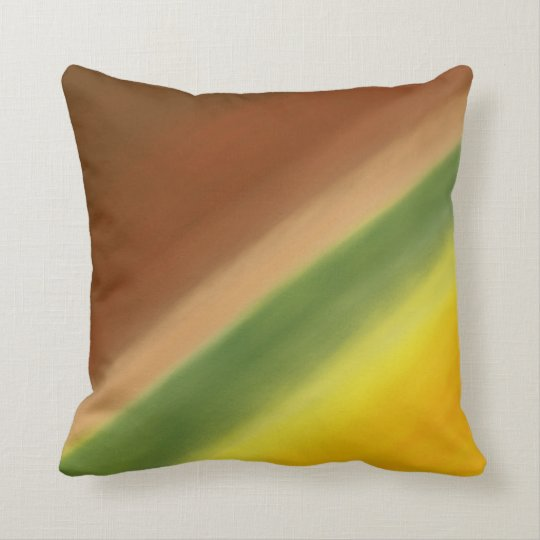 Warm Fall YRGB Throw Pillow