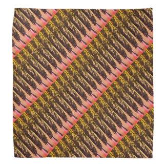 Warm Feathers Patterned Bandana