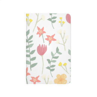 Warm Florals Pocket Journal