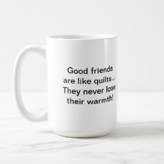 Warm Friends Quilter's Mug