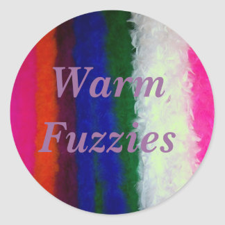 Warm Fuzzies Great Job School Teacher Sticker