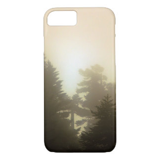 Warm Glow/ Misty Woods Forest Trees Nature iPhone 8/7 Case