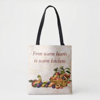Warm Hearts to warm kitchens Tote Bag