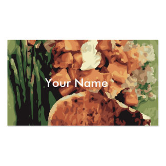 Warm Homemade Potatoes and Green Beans Pack Of Standard Business Cards