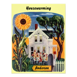 Warm Inviting Home HOUSEWARMING PARTY INVITATION