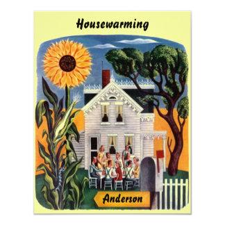 "Warm & Inviting Home HOUSEWARMING PARTY INVITATION 4.25"" X 5.5"" Invitation Card"