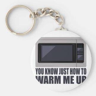 Warm Me Up Basic Round Button Keychain